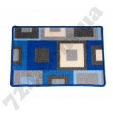 Коврик в ванную CONFETTI прорезиненный 40х60 ANATOLIA 38 BLUE