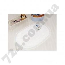 Коврик для ванной IRYA - BIRD BEYAZ белый 60*100см