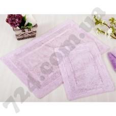 Набор ковриков в ванную Irya  60х90 и 40х60 Superior Lila