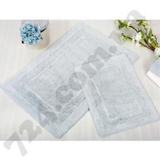 Набор ковриков в ванную Irya  60х90 и 40х60 Superior Mavi