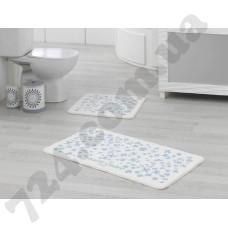 Набор ковриков для ванной MARIE CLAIRE DELIGHT MAVI 57X100+55X57