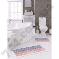 Набор ковриков для ванной MARIE CLAIRE STRIPE 57X100+55X57