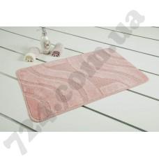 Коврик для ванной Maximus SYMPHONY розовый  50*80