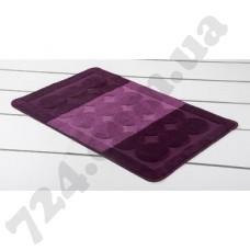 Коврик для ванной MAXIMUS EDREMIT AUBERGINE фиолетовый 60X100 см