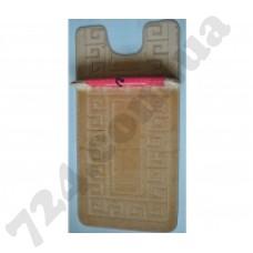 Набор ковриков в ванную MAXIMUS  50x80 + 40x50 ETHNIC D.BEIGE