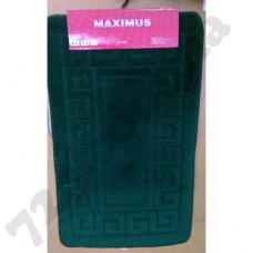 Набор ковриков в ванную MAXIMUS  50x80 + 40x50 ETHNIC HUNTER GREEN