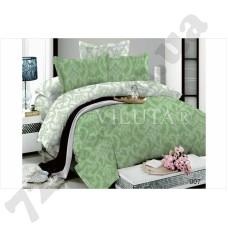 Постельное белье Вилюта Дамаск зеленый
