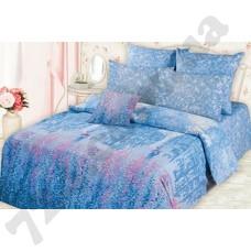 Постельное белье Романтика Дождь в Париже синий