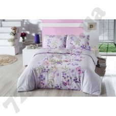 Постельное белье Nazenin Inga purple