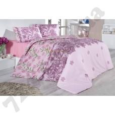 Постельное белье Nazenin Laryssa pink