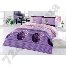 Постельное белье Kristal Serra V02 violet