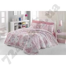 Постельное белье Nazenin Lucia pink