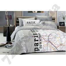 Постельное белье LeVele Baskili Parismap