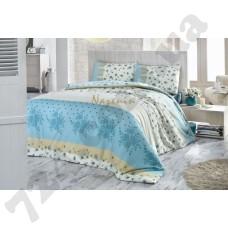 Постельное белье Nazenin Aksana blue