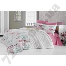 Постельное белье Nazenin Oliva pink