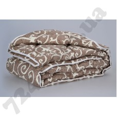Одеяло Міцний сон Вензеля шоколад