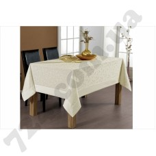Скатерть Beysu Tropik Bamboo cream