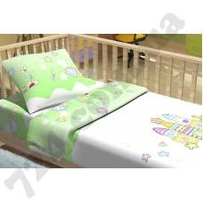 Детское постельное белье KidsDreams Замок зелёный