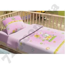 Детское постельное белье KidsDreams Слоник розовый
