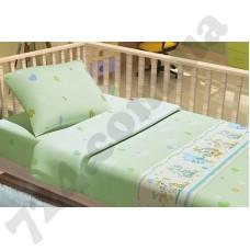 Детское постельное белье KidsDreams Улыбка зеленый