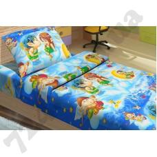 Детское постельное белье KidsDreams Амуры на голубом
