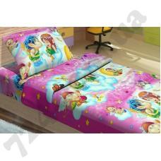 Детское постельное белье KidsDreams Амуры на розовом
