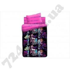 Детское постельное белье Monster High Школьные граффити