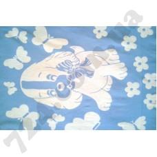 Детское одеяло WOT Dog light blue