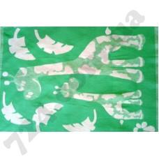 Детское одеяло WOT Giraffe green