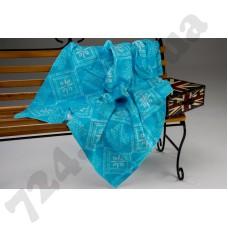 Детское одеяло WOT Орнамент бирюзовый