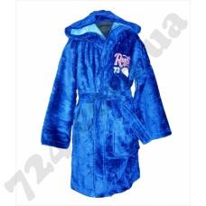 Детский халат Nusa Регби синий