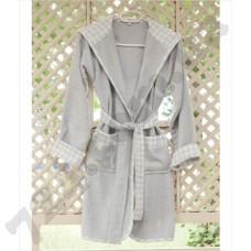 Детский халат Pavia Bran grey