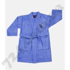 Детский халат U.S. Polo Assn Uspa mavi