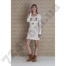 Домашняя одежда 17026 (bej)