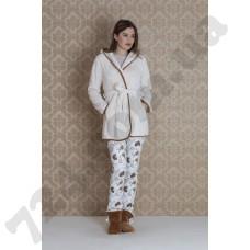 Домашняя одежда 17033 (bej)