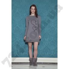 Домашняя одежда 17053 (gri)