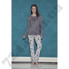 Домашняя одежда 17101 (gri)