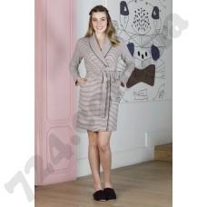 Домашняя одежда 19011 bordo