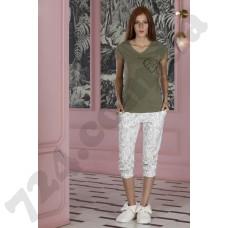 Домашняя одежда 19131 yesil