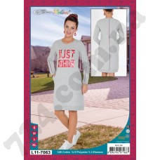 Домашняя одежда 11-7063 koyu gri