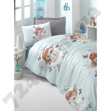 КПБ LIGHTHOUSE ranforce CANDY G?RL бирюзовый 160*220/2*50*70 *