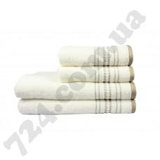 полотенце махр Pacific 50*90 кремовий 450г/м2