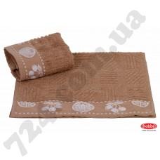 полотенце д/кухні MEYVE 30*50 s.kahve коричневый 430г/м2