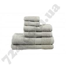 полотенце RAINBOW Gri 50х90 серый 500г/м2