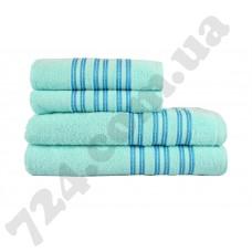 полотенце махр Ares 70*140 бирюзовый 400г/м2