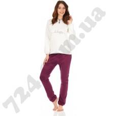 Комплект одежды JOKAMI женский DESIRE крем/фіолет. XL