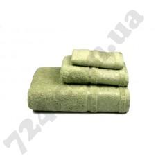 Полотенце махровое Bamboo new (зелёное), 30х50см
