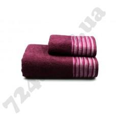 Полотенце махровое Eirene (фиолетовое), 70х140см