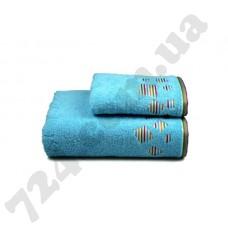 Полотенце махровое Rainbow (голубое), 50х90см