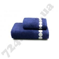 Полотенце махровое Balls (синее), 50х90см
